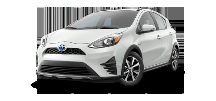 New 2018 Toyota Prius c One