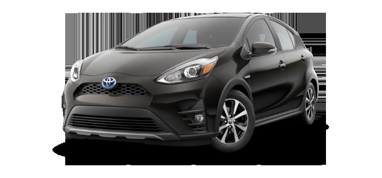 New 2018 Toyota Prius c Four