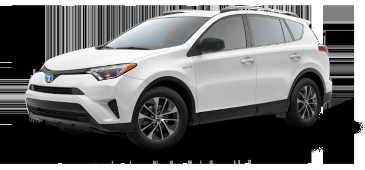 New 2018 Toyota RAV4 Hybrid LE