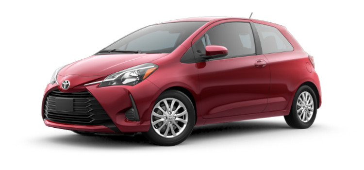 The 2018 Toyota Yaris Automatic LE FWD 3-Door Hatchback  sc 1 st  Don Joseph Toyota & 2018 Toyota Yaris at Don Joseph Toyota: Compact and Stacked: The ...