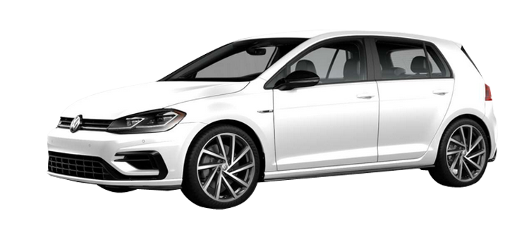2018 Volkswagen Golf R with DDC and Navigation 4-Door AWD