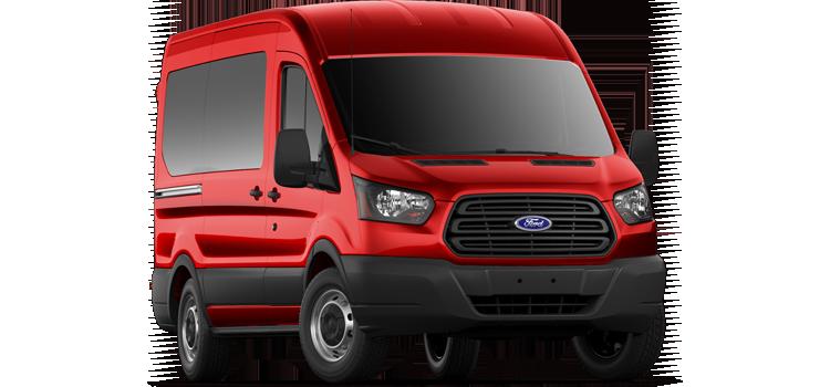 Buda Ford - 2019 Ford Transit Wagon Medium Roof, Sliding Pass. 130 WB 150 XL