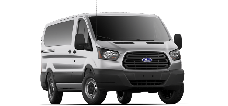 San Marcos Ford - 2019 Ford Transit Wagon Low Roof, Sliding Pass. 130 WB 150 XL