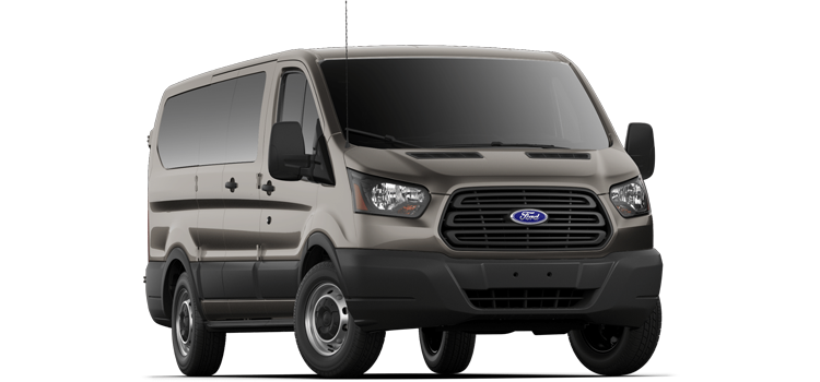 Round Rock Ford - 2019 Ford Transit Wagon Low Roof, 60/40 Pass. 130 WB 150 XL