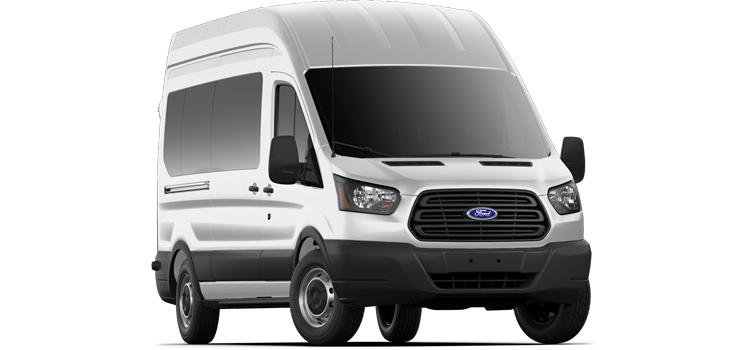 Bastrop Ford - 2019 Ford Transit Wagon High Roof, Sliding Pass. 148 WB 350 XL