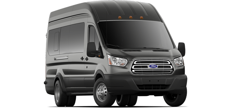 San Marcos Ford - 2019 Ford Transit Wagon DRW High Roof, Sliding Pass. 148 EL WB 350 XLT