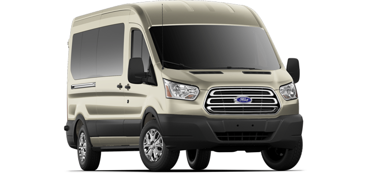 Georgetown Ford - 2019 Ford Transit Wagon Medium Roof, Sliding Pass. 148 WB 350 XLT