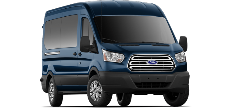 Buda Ford - 2019 Ford Transit Wagon Medium Roof, Sliding Pass. 148 WB 350 XLT