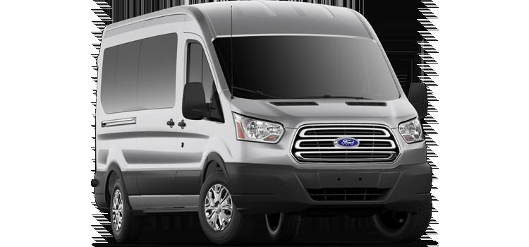 Georgetown Ford - 2019 Ford Transit Wagon Medium Roof, Sliding Pass. 148 WB 350 XLT