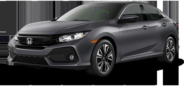 Lake Charles Honda - 2019 Honda Civic Hatchback 1.5T L4 with Navigation EX-L