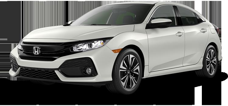 Oklahoma City Honda - 2019 Honda Civic Hatchback 1.5T L4 with Navigation PZEV EX-L
