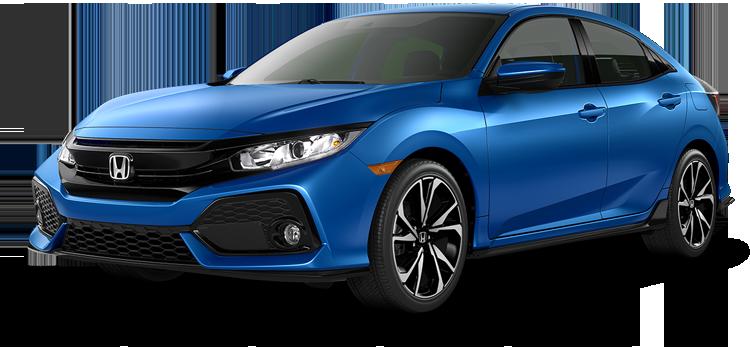 Beaumont Honda - 2019 Honda Civic Hatchback 1.5T L4 PZEV Sport