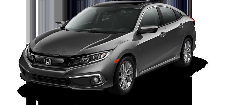 Houston Honda - 2019 Honda Civic Sedan 1.5T L4 PZEV EX