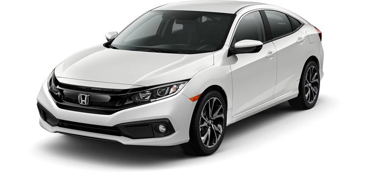 Baytown Honda - 2019 Honda Civic Sedan 2.0 L4 PZEV Sport