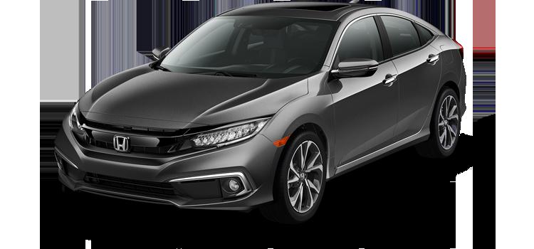 Gulfport Honda - 2019 Honda Civic Sedan 1.5T L4 PZEV Touring