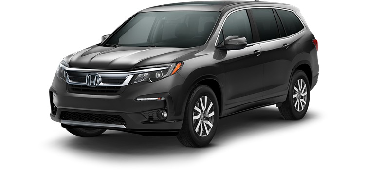 Oklahoma City Honda - 2019 Honda Pilot With Navigation and Rear Entertainment System EX-L
