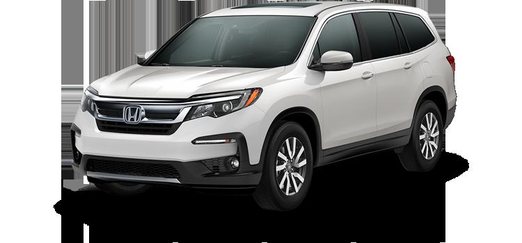 Biloxi Honda - 2019 Honda Pilot With Navigation and Rear Entertainment System EX-L