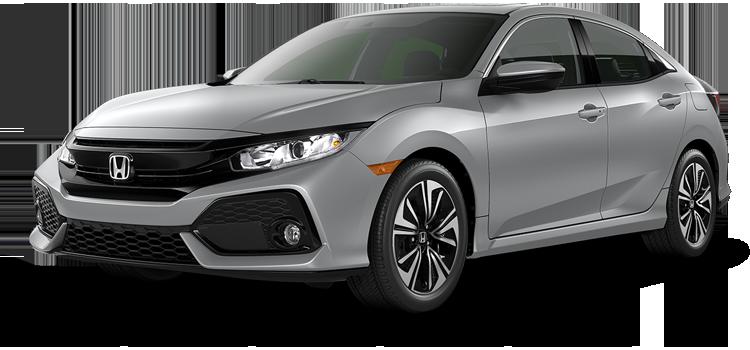 new 2019 Honda Civic Hatchback 1.5T L4 EX