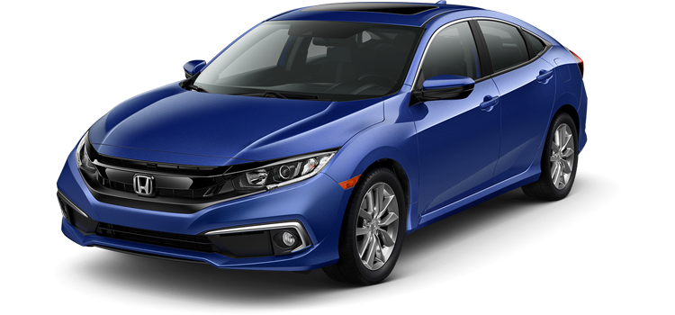 new 2019 Honda Civic Sedan 1.5T L4 EX