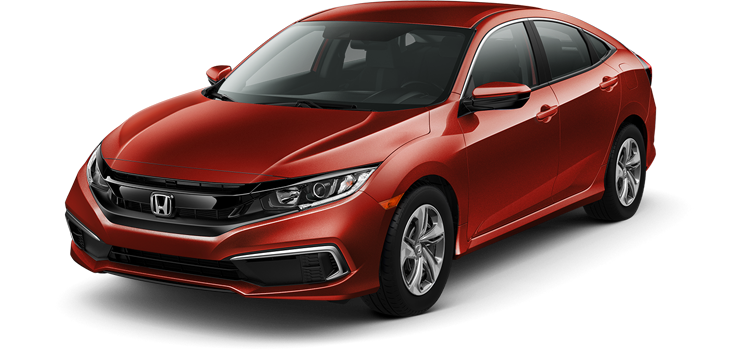 New 2019 Honda Civic Sedan 2.0 L4 LX CVT