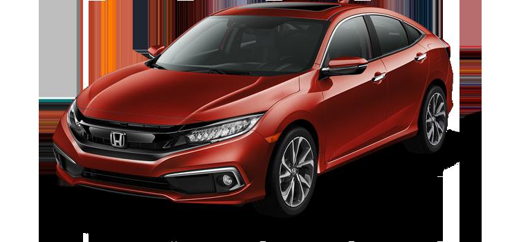 new 2019 Honda Civic Sedan 1.5T L4 Touring