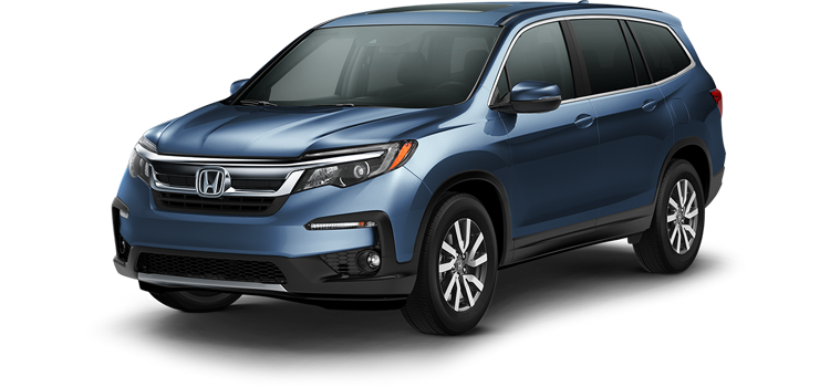 new 2019 Honda Pilot With Navigation and Rear Entertainment System EX-L