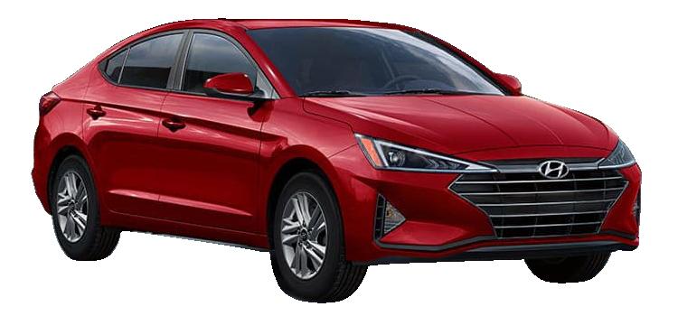 2019 Hyundai Elantra SEL 4D Sedan