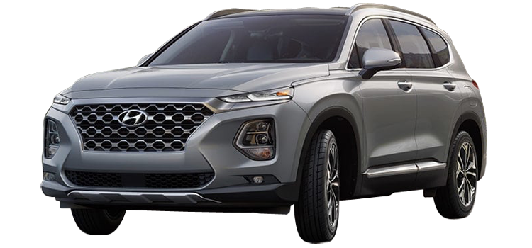 New 2019 Hyundai Santa Fe 4d Suv Fwd Ultimate 2 0t Stock Ah91129 Vin 5nms53aa4kh108515