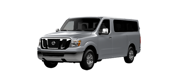 New 2019 Nissan NV Passenger 3500 HD 4.0L V6 SV