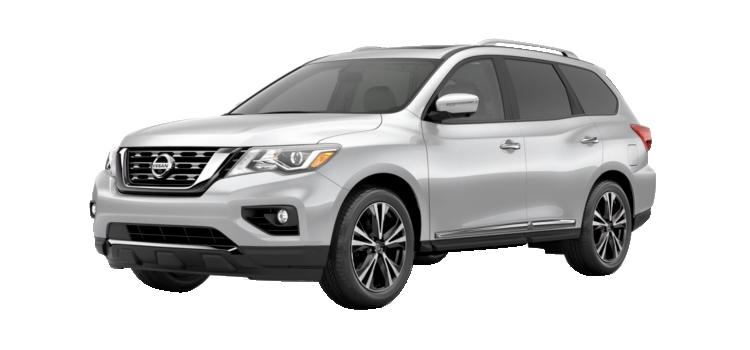 new 2019 Nissan Pathfinder 3.5L Xtronic CVT Platinum