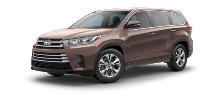 Orange Toyota - 2019 Toyota Highlander V6 LE