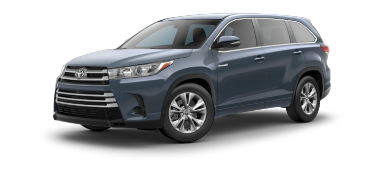 Experience The 2019 Toyota Highlander Hybrid V6 Le Awd 4 Door Suv
