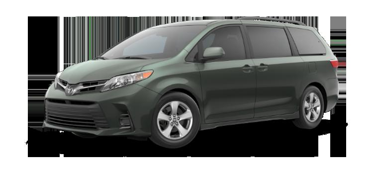 Oklahoma City Toyota - 2019 Toyota Sienna 8 Passenger LE