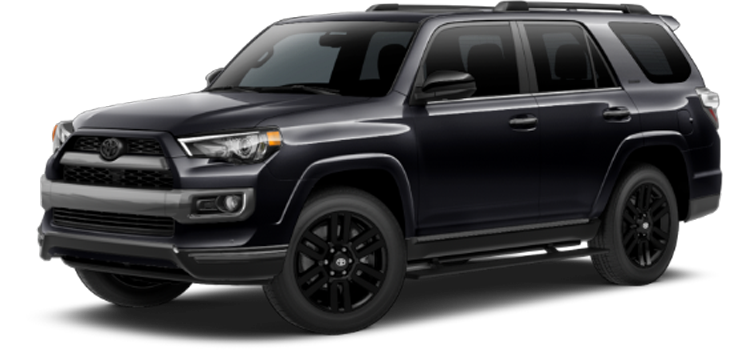 new 2019 Toyota 4Runner 4.0L V6 Limited Nightshade Edition
