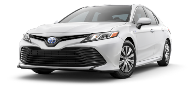2019 Toyota Camry Hybrid At Don Joseph Toyota Fuel Efficiency Taken