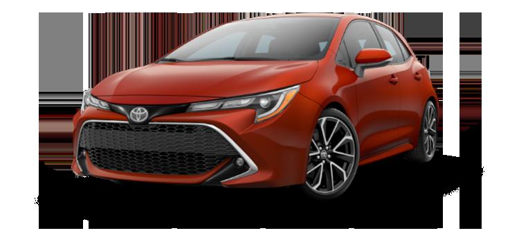 New 2019 Toyota Corolla Hatchback XSE