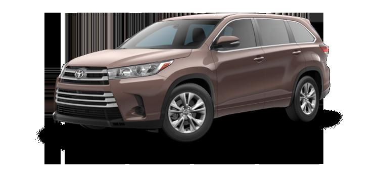 new 2019 Toyota Highlander 4-cylinder LE