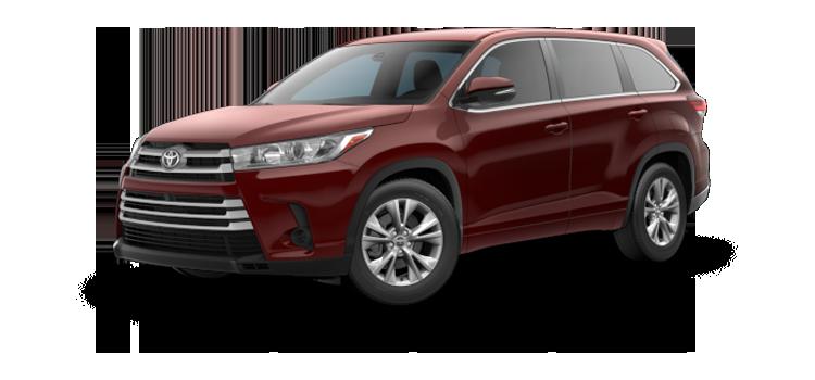 New 2019 Toyota Highlander V6 LE