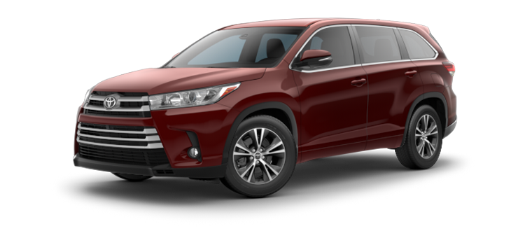 new 2019 Toyota Highlander V6 LE Plus