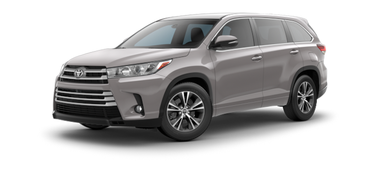new 2019 Toyota Highlander V6 LE Plus