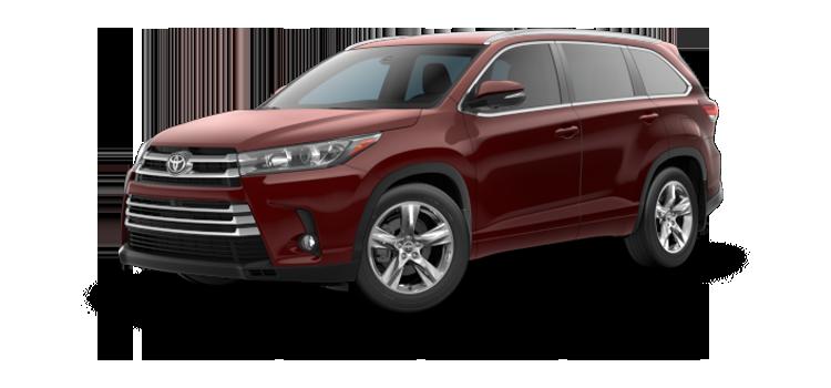 new 2019 Toyota Highlander V6 Limited