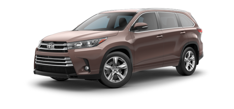 new 2019 Toyota Highlander V6 Limited Platinum
