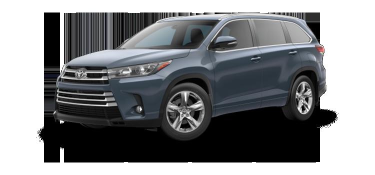 new 2019 Toyota Highlander V6 Limited Platinum