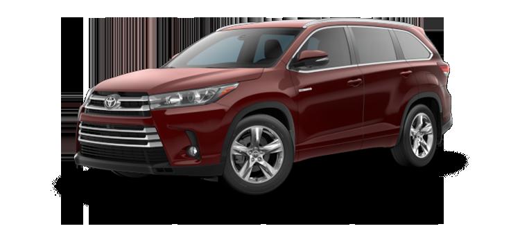 New 2019 Toyota Highlander Hybrid V6 Limited