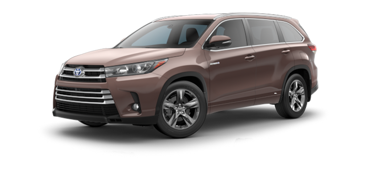 New 2019 Toyota Highlander Hybrid V6 Limited Platinum