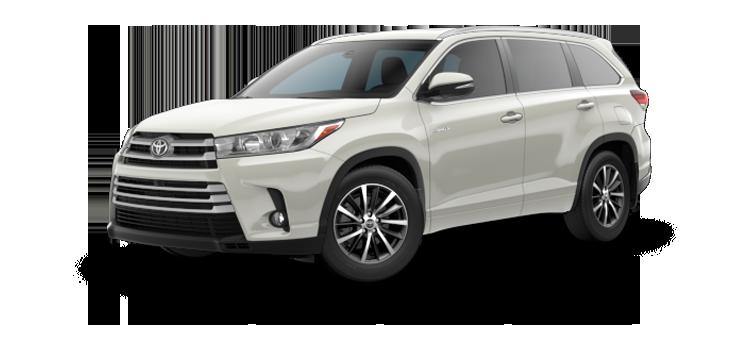 new 2019 Toyota Highlander Hybrid V6 XLE
