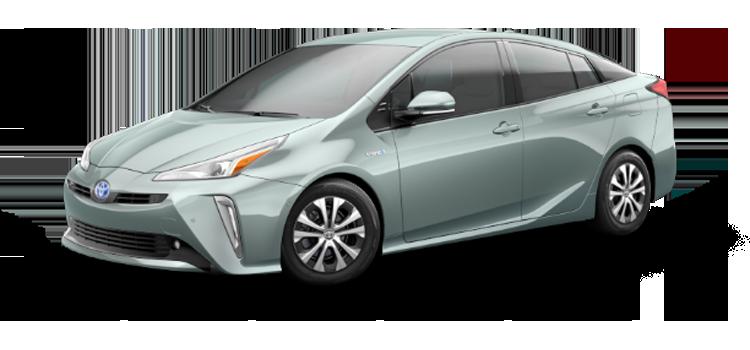 New 2019 Toyota Prius LE AWD-e