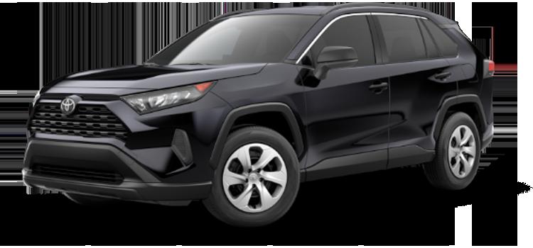 new 2019 Toyota RAV4 LE