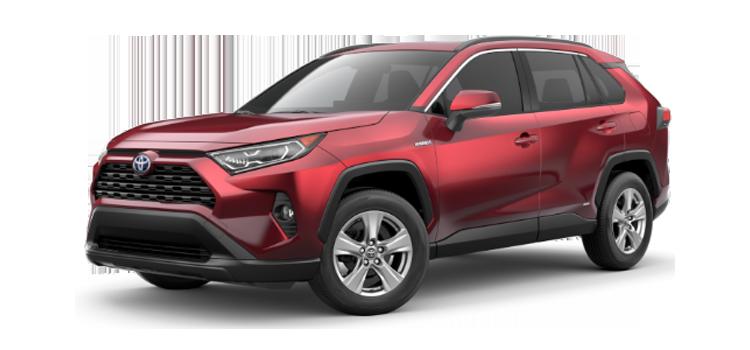 new 2019 Toyota RAV4 Hybrid XLE