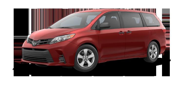 New 2019 Toyota Sienna 7 Passenger L